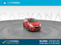 2015 Chevy Chevrolet Spark hatchback 2LT Hatchback 4D Red <br