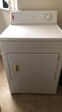 white front-load clothes dryer Silver Spring, 20903