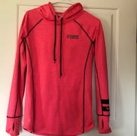 EUC VS Pink Hoody Sz Small thumbholes & MP3 player holder Scituate, 02857