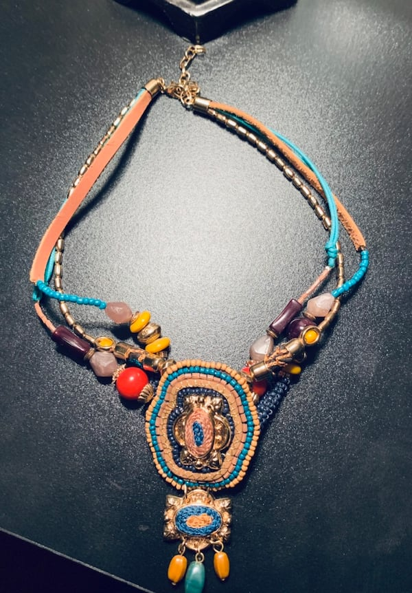 Multicolor Pier One Necklace f4bcdc80-4146-48a7-bac8-7fac5ad84aa4