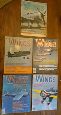 Collection of Vintage 'Wings' Magazines   Indianapolis, 46201