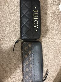 Juicy and guess wallets 30$ each