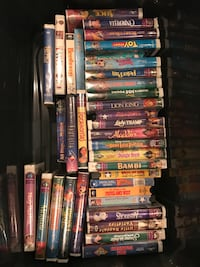 VHS tapes a lot of disney Edgewater, 80214