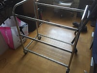 stainless steel rolling rack