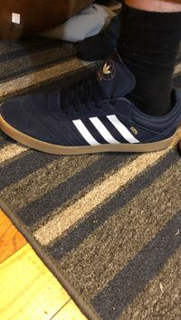 Blue suede adidas  Plymouth