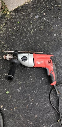 Red and black Milwaukee corded hand drill Oakville, L6M 1M8