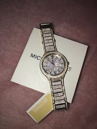 Brand new Michael kors Kerry gold tone mk3360 watch Oakville, T1Y