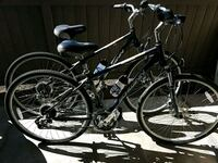 2- 12 speed bikes with disk brakes hand gearshift  Huntington Beach, 92647