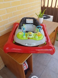 baby's white and red activity walker Quakers Hill, 2763