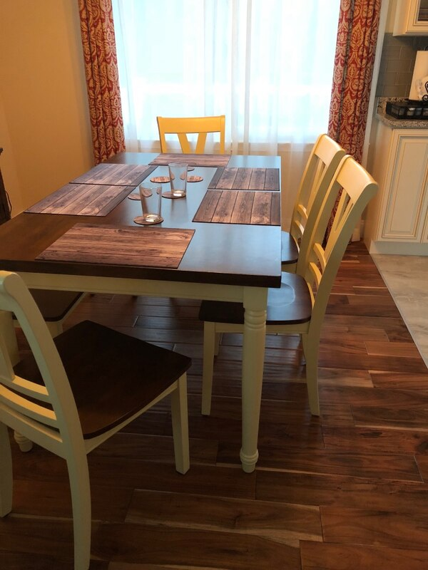 Dining table ONLY 36 x 60