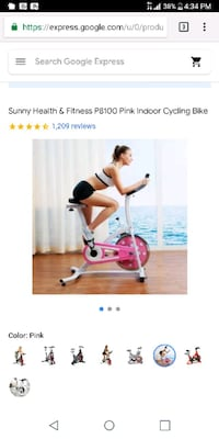 Exercise bike. PINK!!! Bothell, 98012