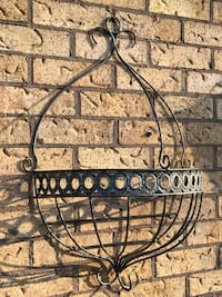 EXTRA LARGE WROUGHT IRON PLANTING BASKET North Dumfries, N0B
