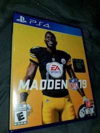 Ps4 mint madden 19 trade for fifa 19 or $50 Toronto, M9N 2C7