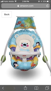 Baby swing and cradle - Fisher Price 800 km