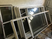 Impact Glass Sliding Door and Windows.. All frames included. Block frame Windows... Take it all for $250, or sold separately for $80 each.  Must Go! Tampa, 33618