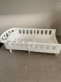 Extendible dish rack