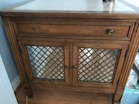 brown wooden cabinet with drawer Arlington, 22207
