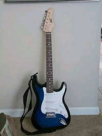 BC ELECTRIC GUITAR with Shoulder Strap. Youth Size