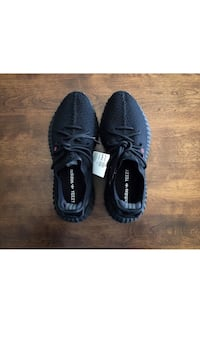 "Yeezy v2 9.5 ""bred"" black and red 3 km"