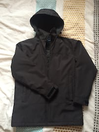 black zip-up hoodie 788 km