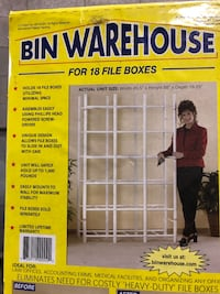 Bin Warehouse Storage Systems 18 File Box Model Mississauga, L4W 2T2