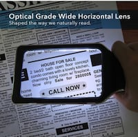 Handheld Magnifying Glass with 10 Anti Glare Dimmable LEDs Los Angeles, 91344