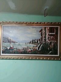 Large Gold Frame Painting Mississauga, L5B 4G6
