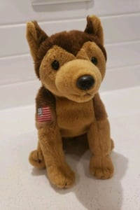 Courage TY Baby Babies Dog American Flag NYPD Langley City, V3A 4K6