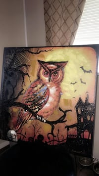 Halloween Owl Painting South Vienna, 45369