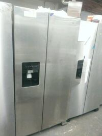 New scratch and dent whirlpool side by side doors  Baltimore, 21223