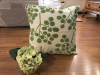 Pier one throw pillow and small flowers Miami, 33196
