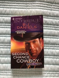 Second chance cowboy by B.J Daniels  Mississauga, L5R 4C5