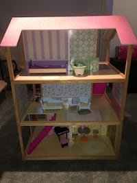 Doll house and accessories Sherwood Park, T8H 2G6