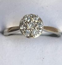 White Gold -diamond ring 0,50 Carat  Elmwood Park, 60707