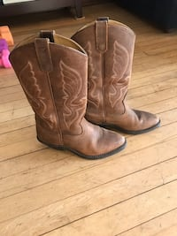 Women's leather cowboy boots Milwaukee, 53202