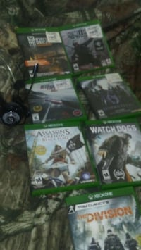 Xbox 1 games and headset Grovetown, 30813