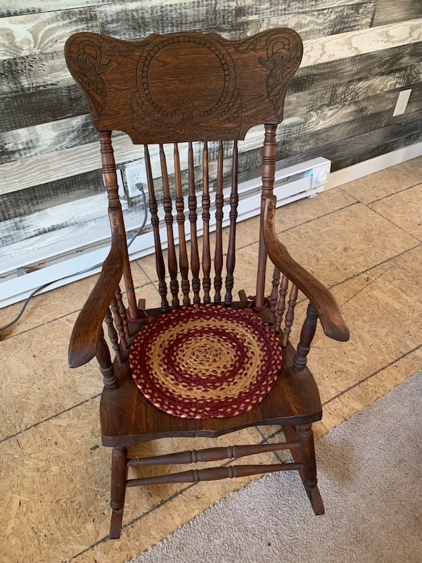 Groovy Antique Rocking Chair Interior Design Ideas Inamawefileorg