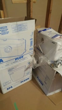 New Saniplus toilet and macerating system Ingersoll, N5C 3J7