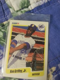 Ken griffey jr fleer 90
