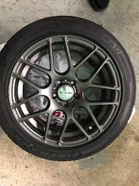 18in RTX Envy rims and tires London, N6E 3C4