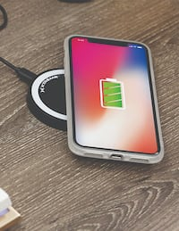 Qi Compatible Wireless Mobile Phone Charging Pad