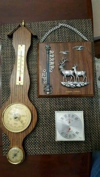 Collection of antique thermometers Edmonton, T5H 4C6