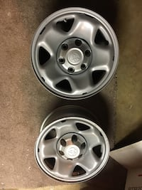 TRD Toyota Wheels 16 X 8 Six Lug Great Condition W/ Caps Falls Church, 22042