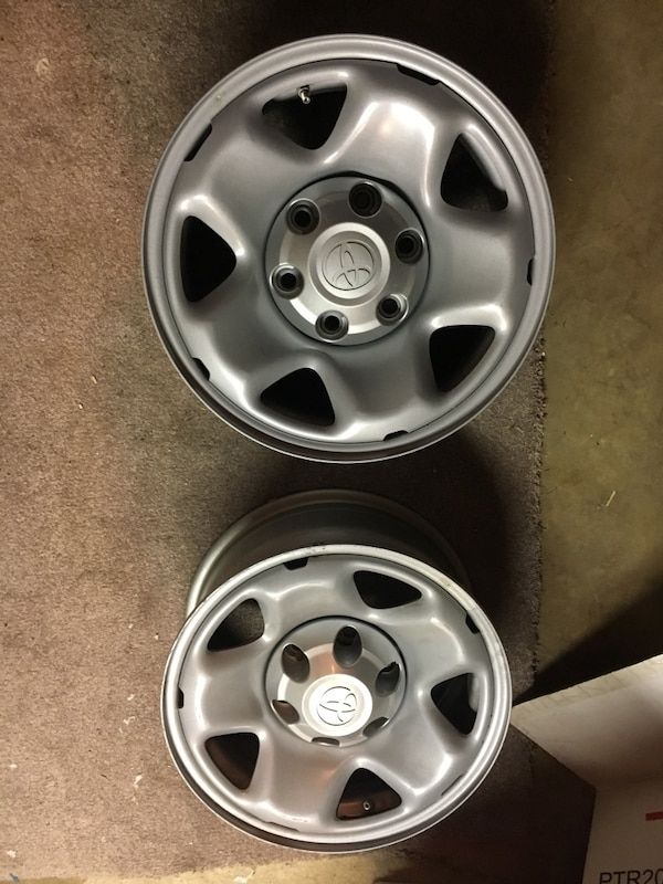 TRD Toyota Wheels 16 X 8 Six Lug Great Condition W/ Caps