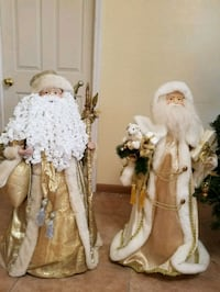 two white and brown dressed porcelain dolls Cape Coral, 33990