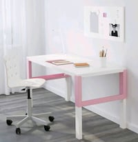 ikea Pahl desk and Molte chair  Toronto