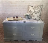 SHABBY BLING MULTI PURPOSE BENCH/CHEST/COFFEE TABLE/TOY BOX Whitby, L1R