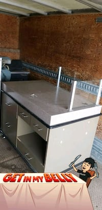 Work table on wheel w lot of storage drawers. Calgary, T2A 5R5