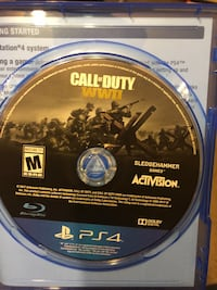 Call of Duty Advanced Warfare PS4 game disc Gambrills, 21054