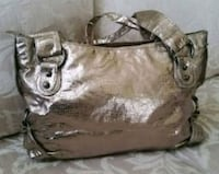 New Large Aldo Metallic Bag